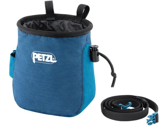 Petzl Saka Chalk Bag, azul